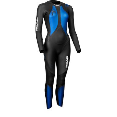 Combinaison Intégrale HEAD OW X-TREAM FS 4.3.2 Femme Manches Longues Noir/Bleu 2021